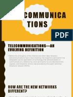 Chapter 5 Telecommunications