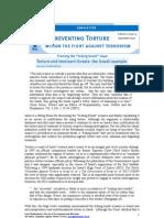 IRCT T&TNL Torure&ImminentThreats Louis Frankenthaler Sept 07