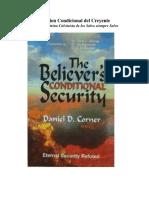 Daniel D. Corner-La Salvación Condicional Del Creyente-