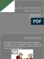 Manual de La Entrevista Psicológica Capitulo 1 y 2