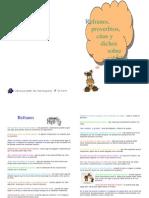 Web Refranes, Prverbios Citas y Dichos Sobre Caballos