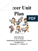 Unit Plan - Elementary Soccer
