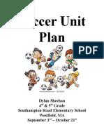 Unit Plan - Elementary Soccer