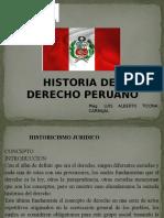 Historia Del Derecho Peruano 14.092016