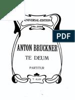 Bruckner -Te Deum