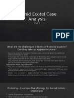 Orchid Ecotel Case Analysis_Group 2I