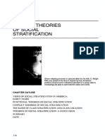 Modern Theories of Social Stratification