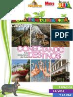Catálogo Rutas Ecoturísticas General.