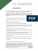 DM Automatic Irrigation System Specs