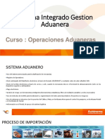 Sistema integrado aduanero