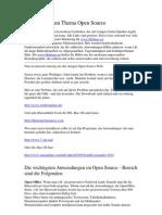 OpenSource für Forum