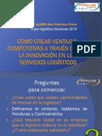 Como Crear Ventajas Competitivas a Través de La Innovación de La Logística
