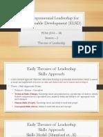 ELSD_Session 3_Theories of Leadership
