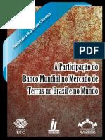 A Participação Do Banco Mundial No Mercado de Terras No Brasil e No Mundo