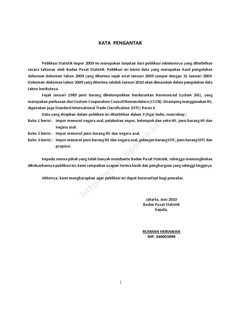 Statistik Impor Indonesia Tahun 2009 Kuliner  Pisang By Minar Production Bdg