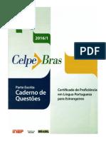 Celpebras 2016 Caderno de Questoes Parte Escrita
