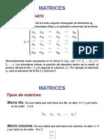 Teoría de Matrices