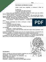A PILULA Falante de Monteiro Lobato Texto e Interpretac3a7c3a3o 3c2ba Ano