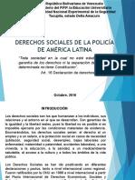 Derechos Sociales de Los Policias en America Latina