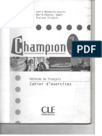 Champion 1 Cahier d' exercices