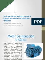 Accionamientos Eléctricos Para El Control de Motores De