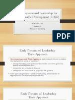 ELSD_Session 2_Theories of Leadership