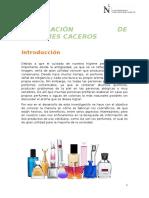 Elaboración de Perfumes Caceros