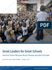 Great Leaders for Great Schools