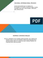Expo Derecho Convencional