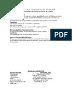 Secuencia Didáctica Texto Instructivo