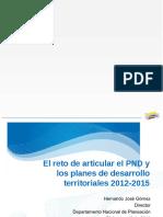 Plan Nacional de Desarrollo DNP