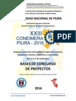 Bases Concurso de Proyectos CONEIMERA 2016