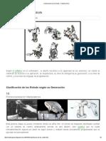 Clasificación de Los Robots - Robotica Puno
