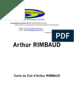 Carte Du Ciel D' Arthur Rimbaud