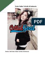 Situs Judi Dadu Online Terbaik di Indonesia