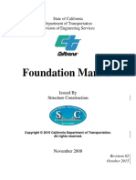 Caltran Foundation Design Guide