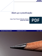 5. Mark Up e Precificação
