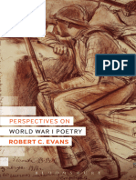 (Literary Studies) Evans, Robert C-Perspectives on World War I Poetry-Bloomsbury Academic (2014)