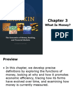 Chapter 3 What is Money