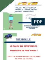 Contrôle et analyse des compressions moteur
