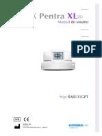 Manual Pentra 80