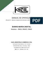 Banho-maria BM02 - Kacil