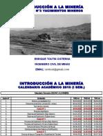 Clase N° 3   Yacimientos Mineros