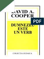 David a Cooper Dumnezeu Este Verb
