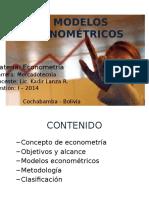 Modelos Econométricos - I- 2013