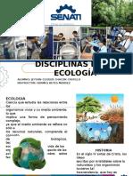 Disciplinas de La Ecologia