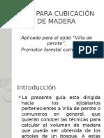 Guía Para Cubicación de Madera