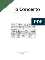 Piano Concerto [2016]