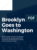 Brooklyn Goes to Washington Reflections