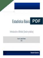 Estadistica Basica Con Minitab
